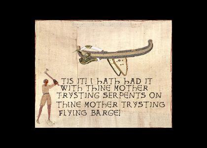 Medieval Snakes on a Plane (ORIGINAL)
