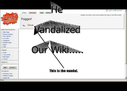 Someone vandalized our wiki!