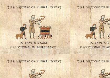 medieval cake