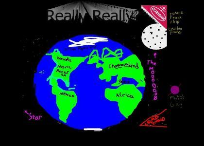 CRAPTMND:  How big is earth?