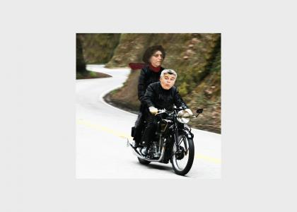 Stern & Leno Go For a Ride