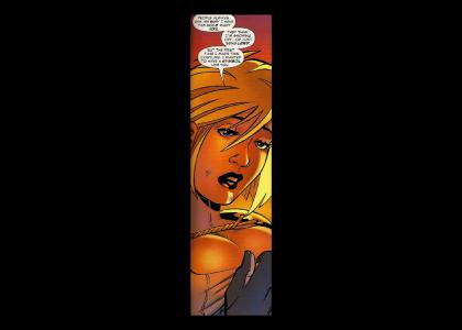 Power Girl needs some heartfelt advice...