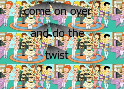 Come on over and do the twist