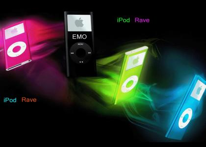 Emo iPod Won't Rave