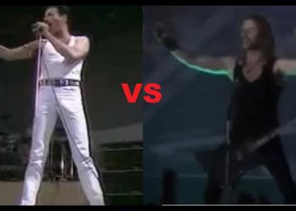 Freddie Mercury vs James Hetfield
