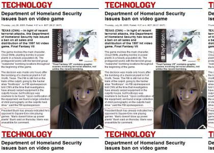 FINAL FANTASY VII BANNED OMG!!!