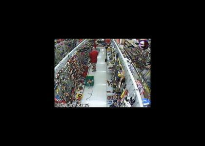 Wal-Mart's new shoplifting deterent