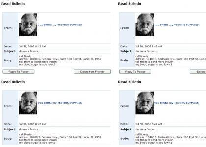 Wilford Brimley Myspace Suicide