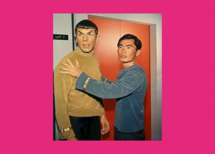 Spock and Sulu's special moment