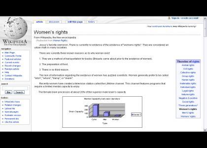Womens Rights? Pfffffff