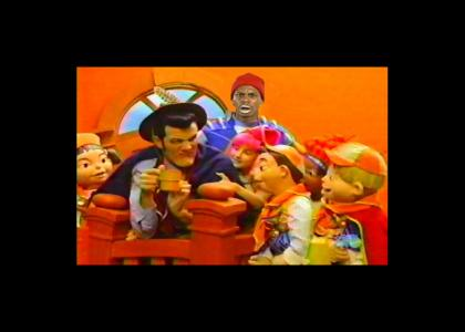 lazy town on crack