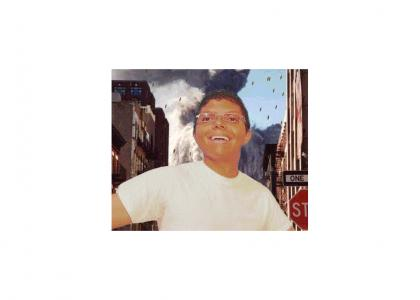 Tay Zonday enjoying 9/11 euphoria.