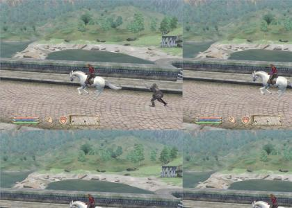 Redguard Stole My Horse!