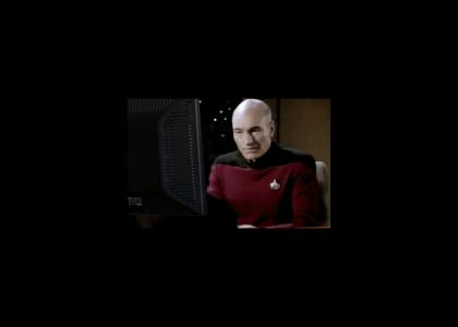 Picard finds Archer's last log