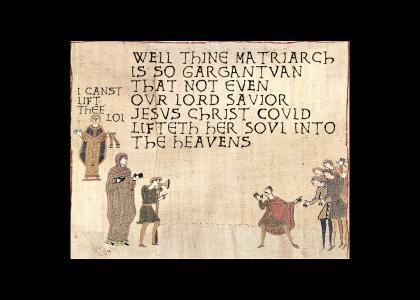 Medieval Comeback to Medival Yo Momma Joke
