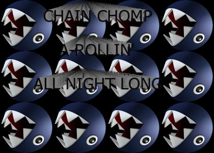 Chain Chomp A-Rollin'