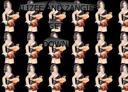 ALIZEE AND ZANGIEF GET DOWN