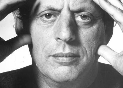 Minimalist Composer Philip Glass Stares Into Your Soul