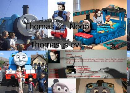 Why can't we be friends Thomas?