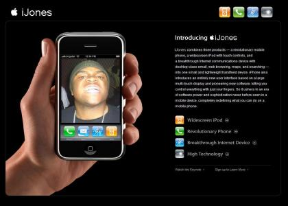 Introducing Apple's new iJones