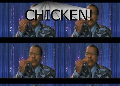 Billy Dee loves his chicken