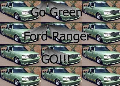 Go Green Ranger GO!!!