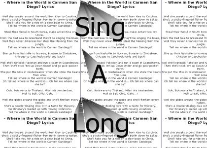 Carmen Sandiego Sing-a-Long!