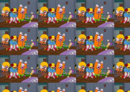 Simpson Clown Moskau