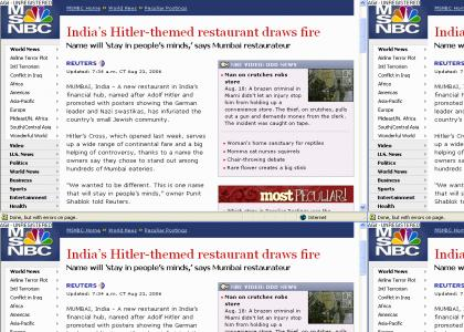 Hitler's Cross - A Great Place to Eat