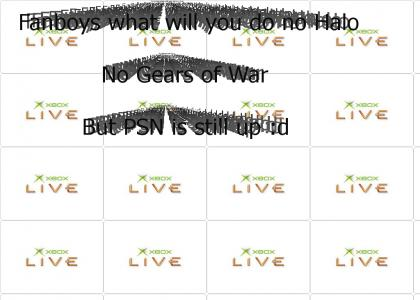 Oh noes Xbox live is teh down!!!