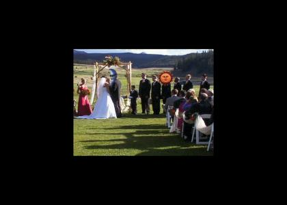 Moon man's wedding day