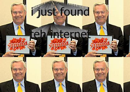 Bill Kurtis finds the Internet