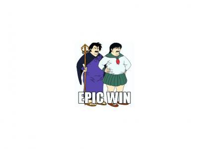 Carl gain's the epic win!