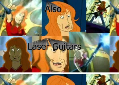Megadeth On Duck Dodgers