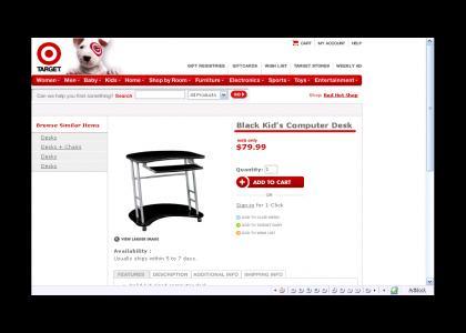 Target.com is Racist!