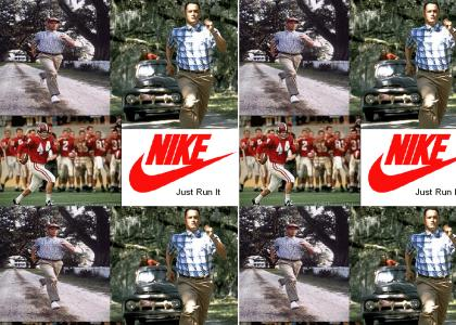 Forrest Gump presents Nike Commercials