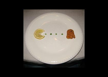 pac man breakfast (a-strict-low-fat-diet)