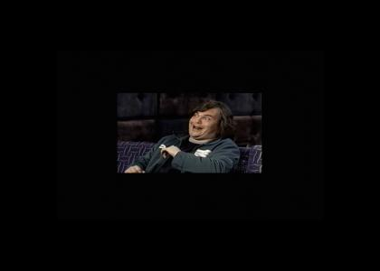 Jack Black laughs for eternity
