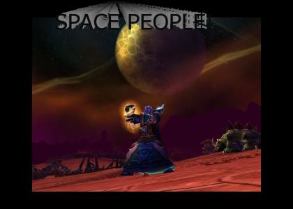 Draenei am space people!