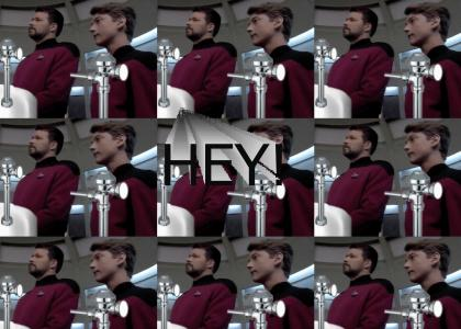 Riker has NO CLASS.