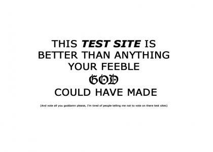 Blasphemous test site