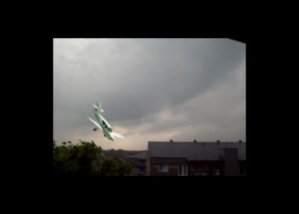 PLANE CRASH AT MY HOME