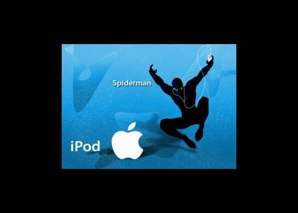 Spiderman Ipod Ad