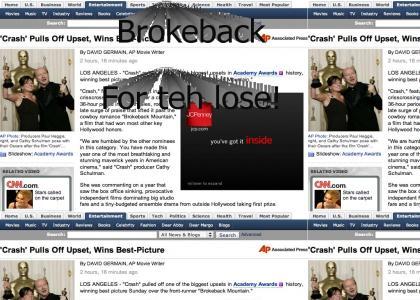 Surprise, Brokeback!