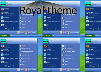 Royal theme