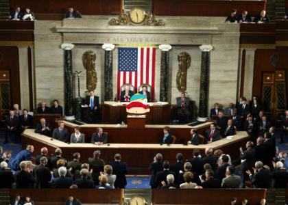 Cartman Addresses Congress
