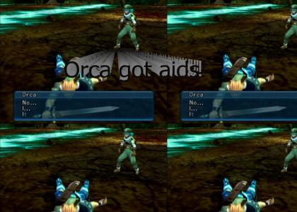 .hack // INFECTION: Orca got infected!! :-P