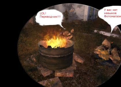 S.T.A.L.K.E.R. - Typical Day Around the Camp Fire