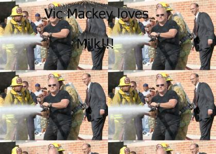 Vic Mackey Loves Milk