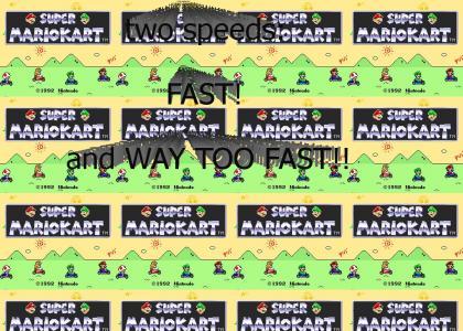 Super Mario Kart FUNNY CAR MADNESS!!!
